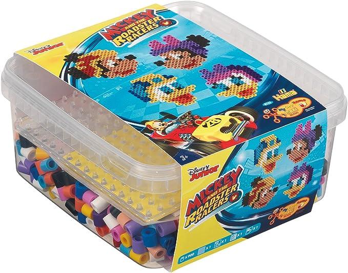 Hama 8743 Tube Bead Multicolor 900 Pieza(s) - Abalorios (Tube Bead, Multicolor, 900 Pieza(s), Caja): Amazon.es: Juguetes y juegos