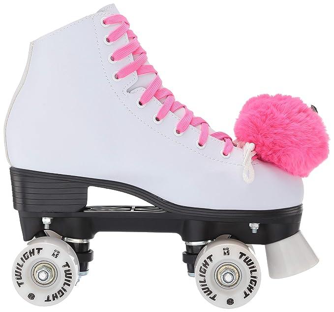 Epic princesa Twilight high-top Quad patines W/Rosa ruedas con luz ...