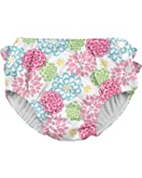i play.............................. Ruffle Snap Reusable Absorbent Swimsuit Diaper