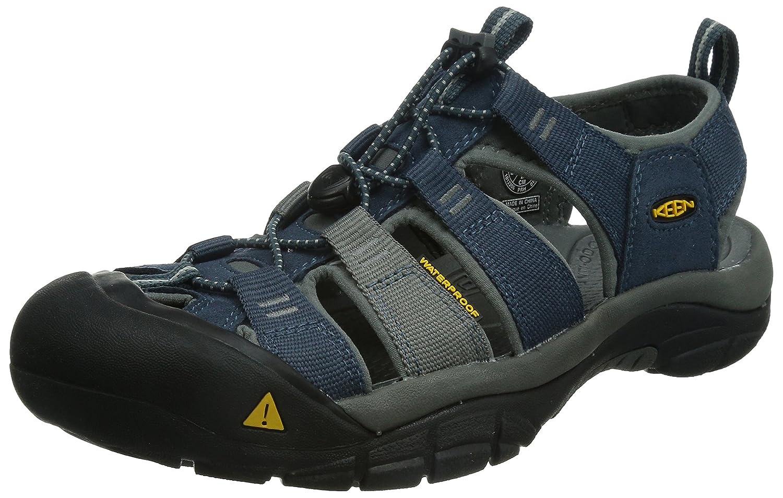 KEEN Men's Newport H2 Sandal B00LH851RG 9.5 D(M) US|Midnight Navy/Neutral Gray