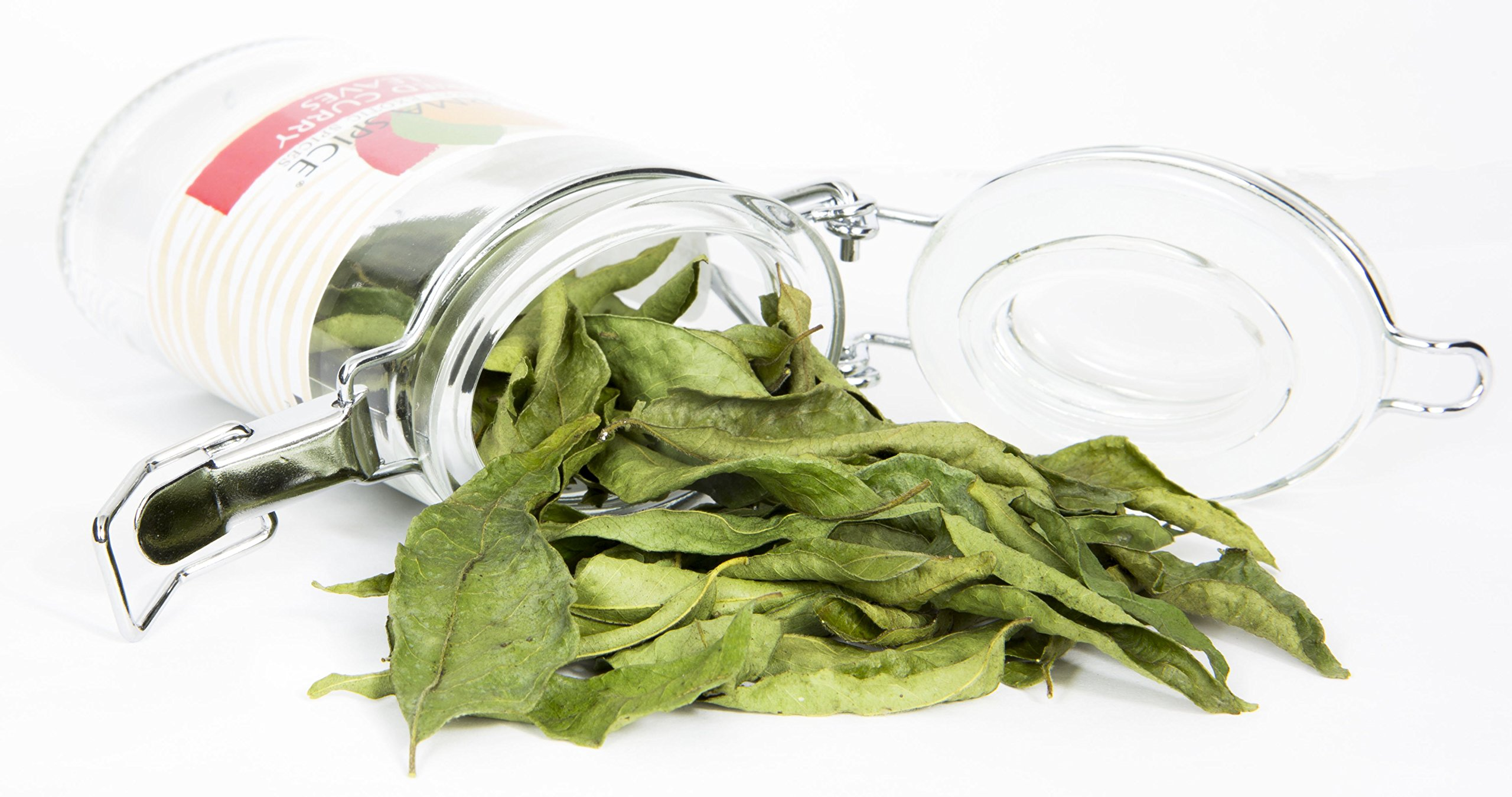 Dried curry leaves (Kari) l 100% Kosher indian spices l Great for Ayurvedic medicine l 0.1 ounces l