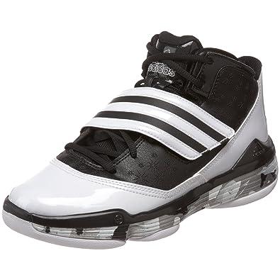 adidas Women's TS Ace Commander Team Basketball Shoe,Black 1/Running White/Metallic