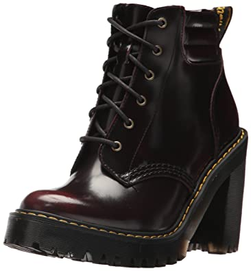 d3e8f1ad26b2 Dr. Martens Women's Persephone Ankle Boots, (Cherry Red 600), 9 UK ...