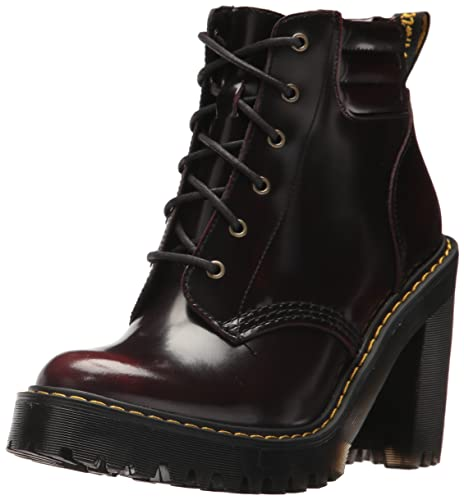008a7be75 Dr. Martens Women's Persephone Fashion Boot, Cherry Red, 7 Medium UK ...