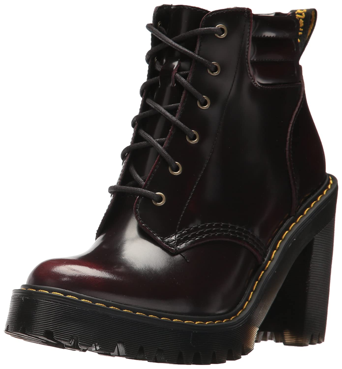 Dr. Martens Women's Persephone Fashion Boot B0716HJ81X 5 Medium UK (7 US)|Cherry Red