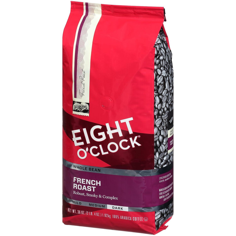 Eight O'Clock Ground Coffee, Hazelnut, 11 Ounce (Pack of 6) Eight O Clock Coffee Company 102900