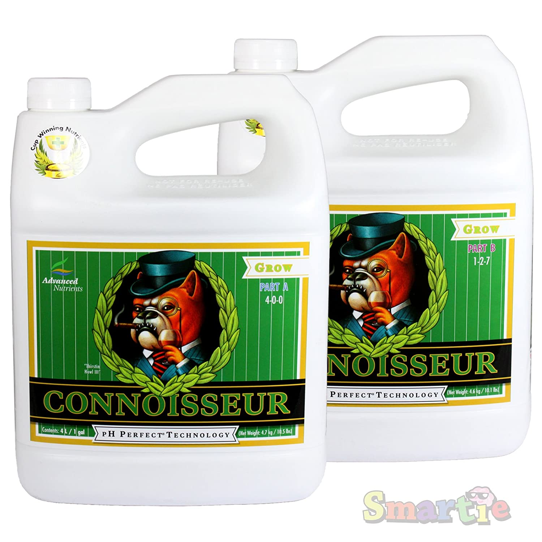 Advanced Nutrients pH Perfect Connoisseur Grow 2 Part A&B 4L Liter / 1 Gallon