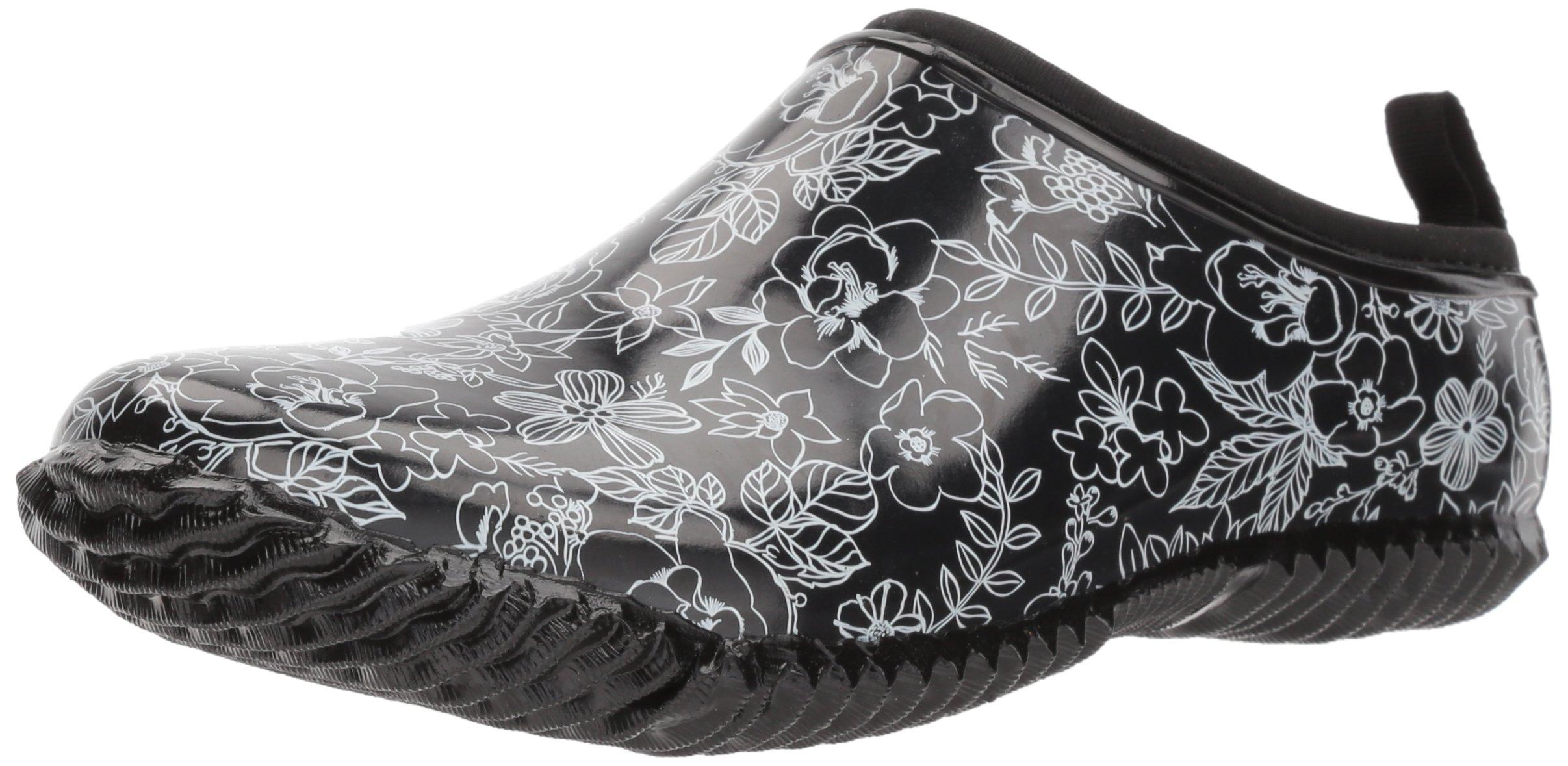 Western Chief Women's Garden Clog, Sketch Flowers, 10 M US