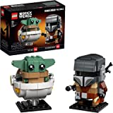 "LEGO 75317 BrickHeadz Star Wars The Mandalorian & The Child ""Baby Yoda"" Collectable Model Building Set"