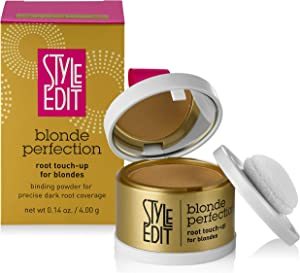 Style Edit Root Touch Up, to Cover Up Roots and Grays, Medium Blonde Hair Color
