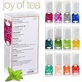 Ronnefeldt Joy of Tea Box, Tee Probierset/Tee Geschenk Twelve Delights mit 12 Aufgussbeuteln zum Kennenlernen, 33,8 g