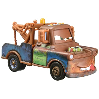 Disney Pixar Cars Fighting Face Mater Die-cast Vehicle: Toys & Games