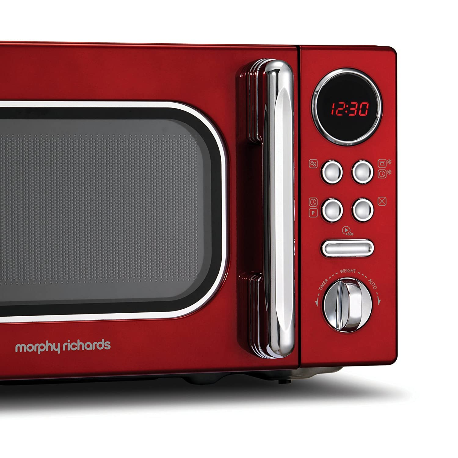 5l accents range only electricals co uk small kitchen appliances - Morphy Richards Accents Colour Collection 511502 20l Digital Solo Microwave Red Amazon Co Uk Kitchen Home