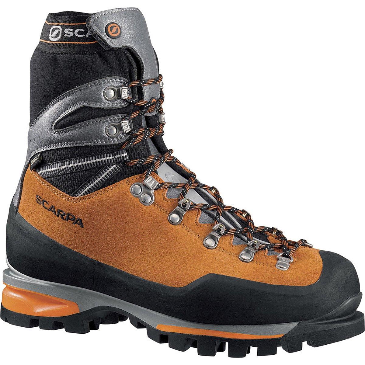 Scarpa Men's Mont Blanc Pro GTX Mountaineering Boot, Orange, 45 EU/11.5 M US