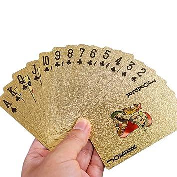 Cartas de póquer de plástico para jugar a las cartas de ...
