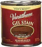 Varathane 224503 Premium Gel Stain, Half Pint, Dark Walnut