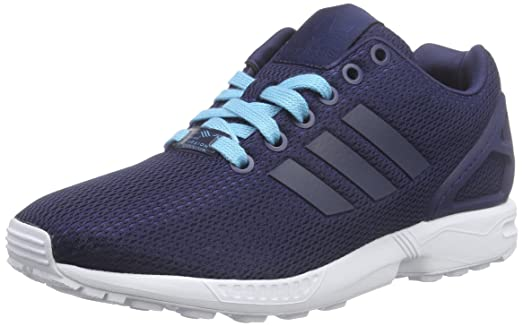 Adidas Women\u0027s ZX Flux W, BLUE/WHITE, ...