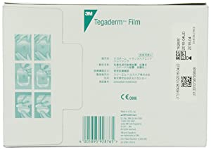 3M 1626W Tegaderm Transparent Film Dressing Frame Style, 50 Dressings Per Pack