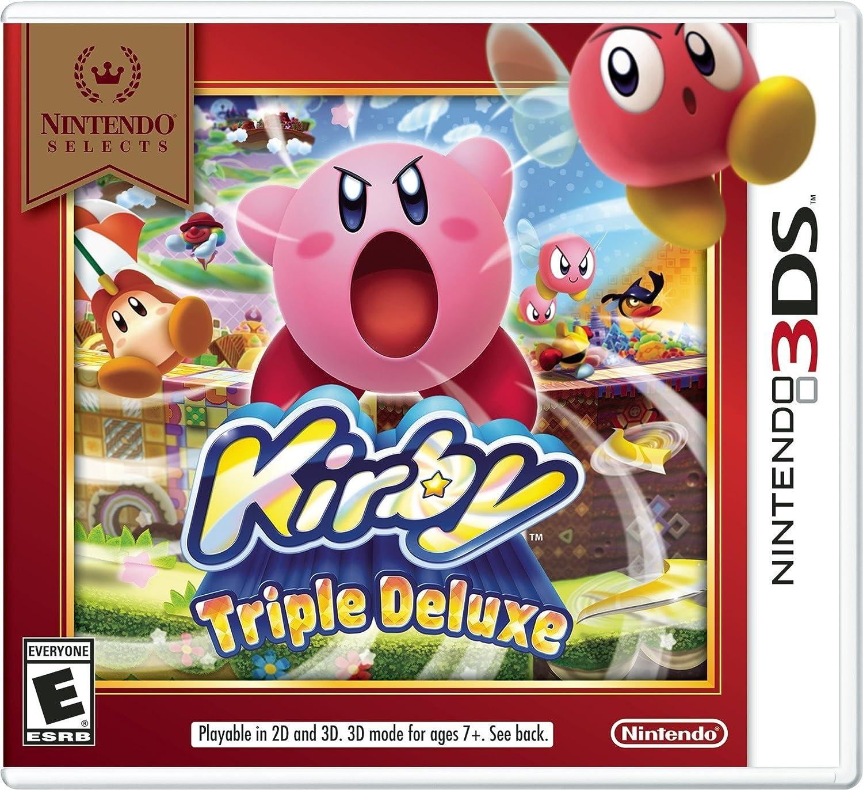 Nintendo Selecciona: Kirby Triple Deluxe 3DS: Amazon.es: Videojuegos