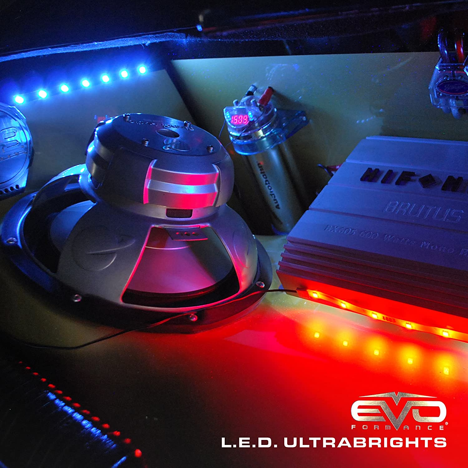 CIPA 93281 Red 8 Ultrabright Flexible Neon Replacement LED Light Strip