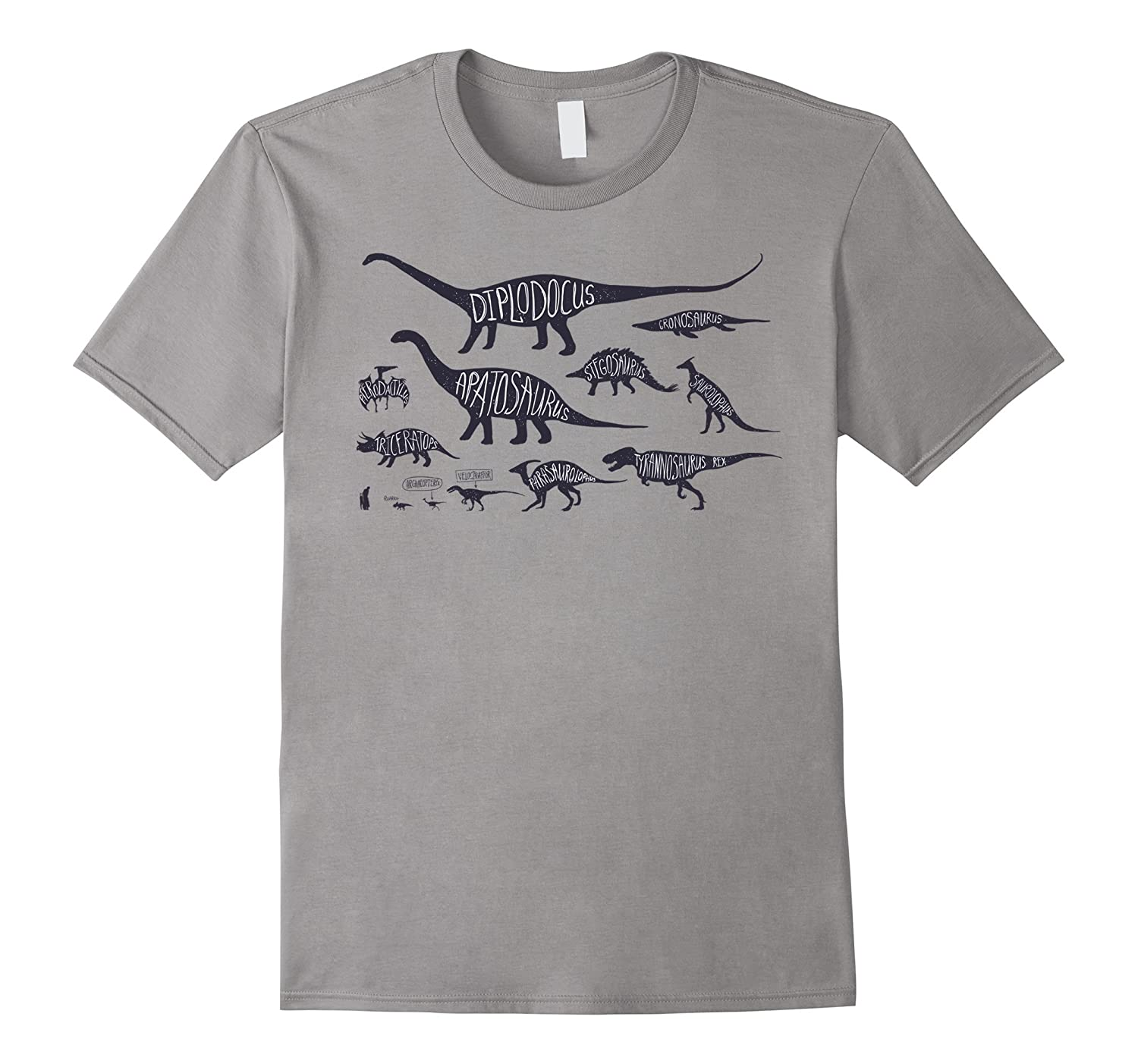 92d8d970f35 Mens Worlds Best Step Dad T-Shirt Fathers Day 2017 Gift-TH. Dinosaur T  Shirt with Variety of Dinos T Rex Velociraptor-TH