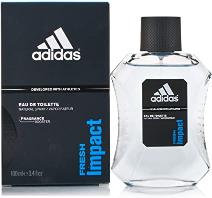 Impuro Vicio Anciano  Adidas Adidas Fresh Impact Eau de Toilette 100ml Spray: Amazon.co.uk:  Health & Personal Care
