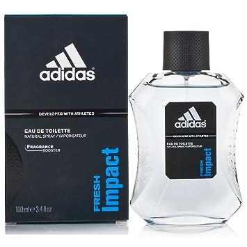 the latest 42464 561f0 Amazon.com   Fresh Impact Eau De Toilette Spray for Men by Adidas, 3.4 oz   Perfume  Adidas For Men   Beauty