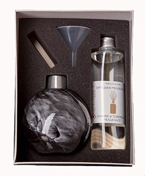Reed Diffuser Gift Set Black Marble Amazon Co Uk Health Personal Care