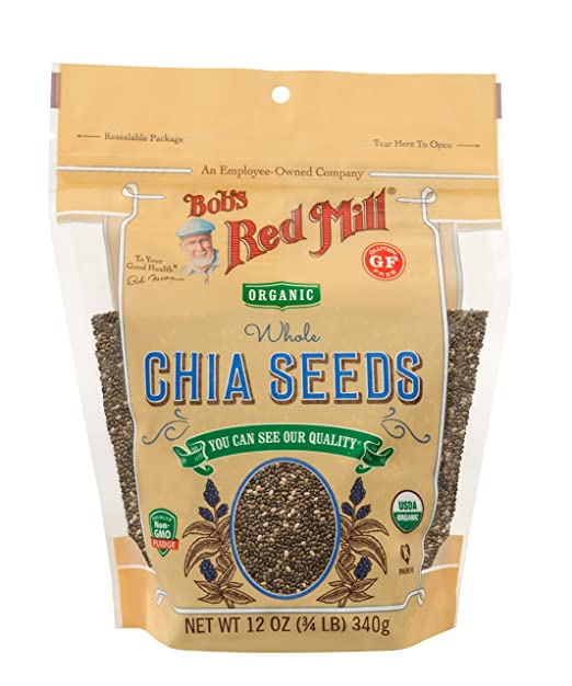 Amazon.com : Bobs Red Mill Chia Seeds, 25 Pound : Grocery & Gourmet Food
