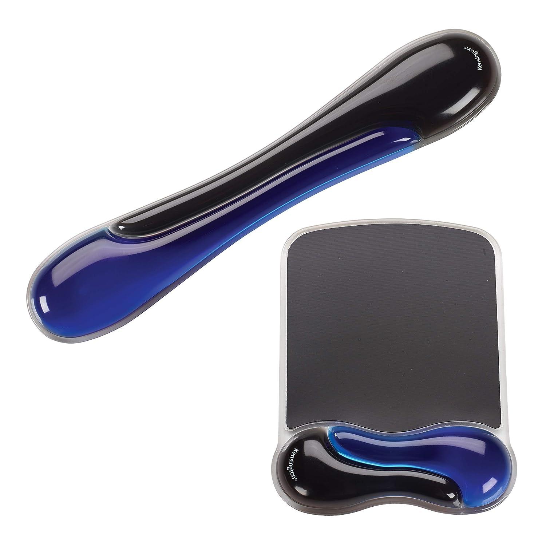 Kensington Duo Gel Mouse & Keyboard Wrist Rest Bundle, Blue (K52920WW)