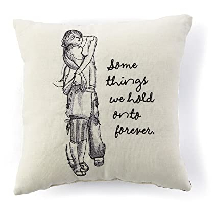 Amazon Hallmark Hold Onto Forever Embroidered 40x40 Pillow Fascinating 10x10 Decorative Pillows