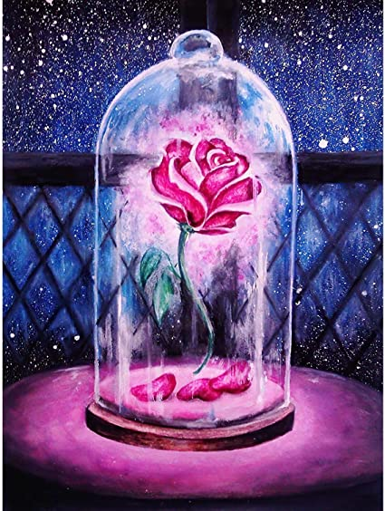 Full Drill 5D DIY Diamond Painting Kits for Adults/&Kids Gem Art Paint with Round Diamonds,Crystal Rhinestone Embroidery Craft Home Wall Decor 13.7x17.7inch//35x45cm