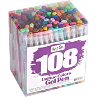 Lineon 108 Pc. Colors Gel Pens Set