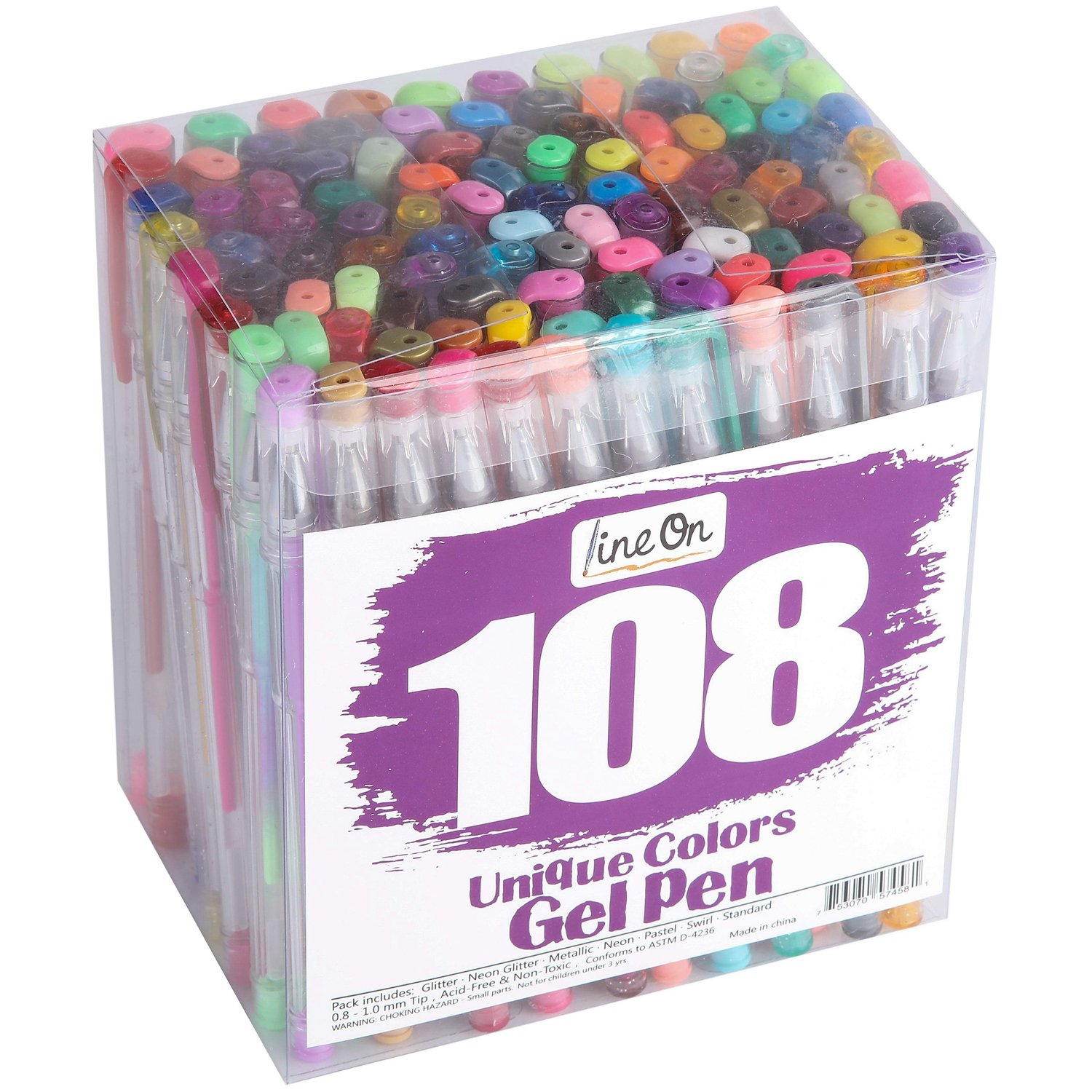 108 Gel Pen Set For Adult Coloring Books 1699 From Amazon Reg