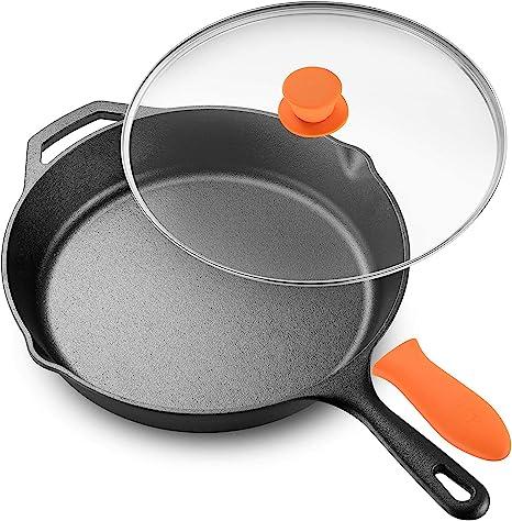 Skillet pan with lid