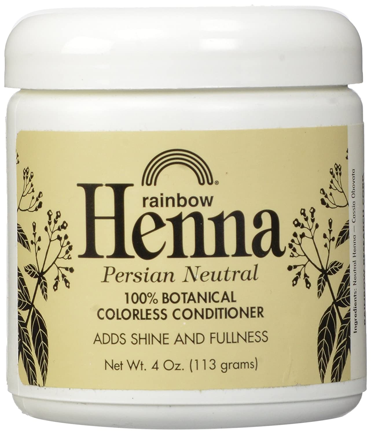 Rainbow Research Persian Neutral Henna Organic 113 g UNFI - Select Nutrition 84688