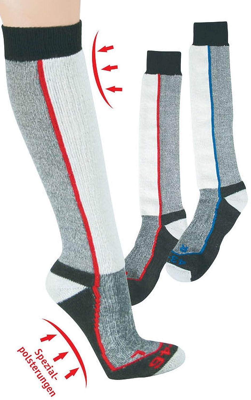 SOCKS PUR THERMOLITE Ski- und Funktionsstrümpfe für Damen und Herren. 2er PACK