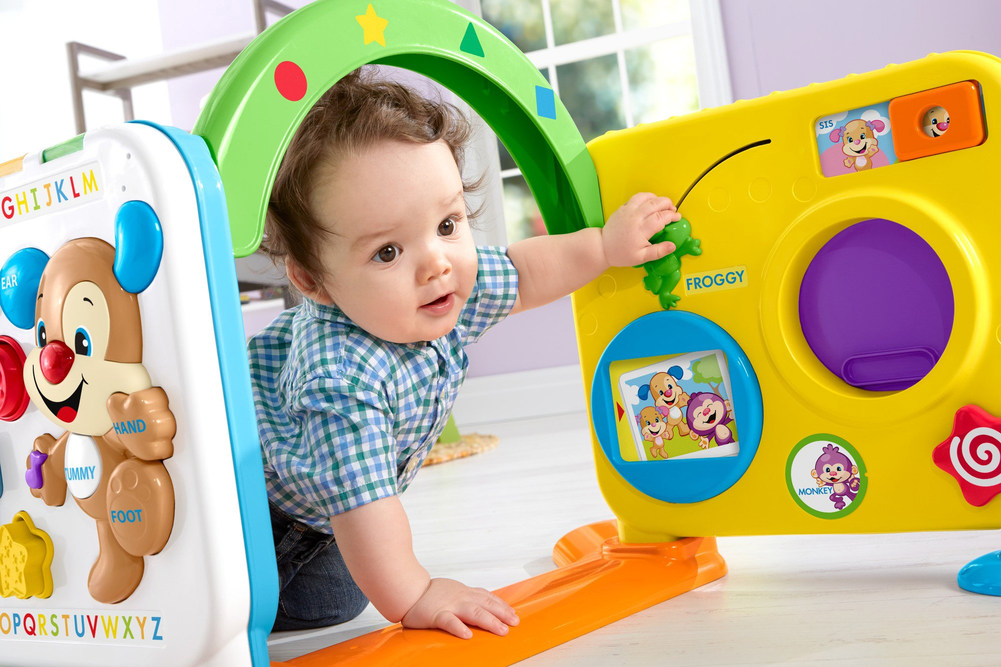 Fisher-Price Laugh & Learn Crawl-Around Learning Center by Fisher-Price (Image #11)