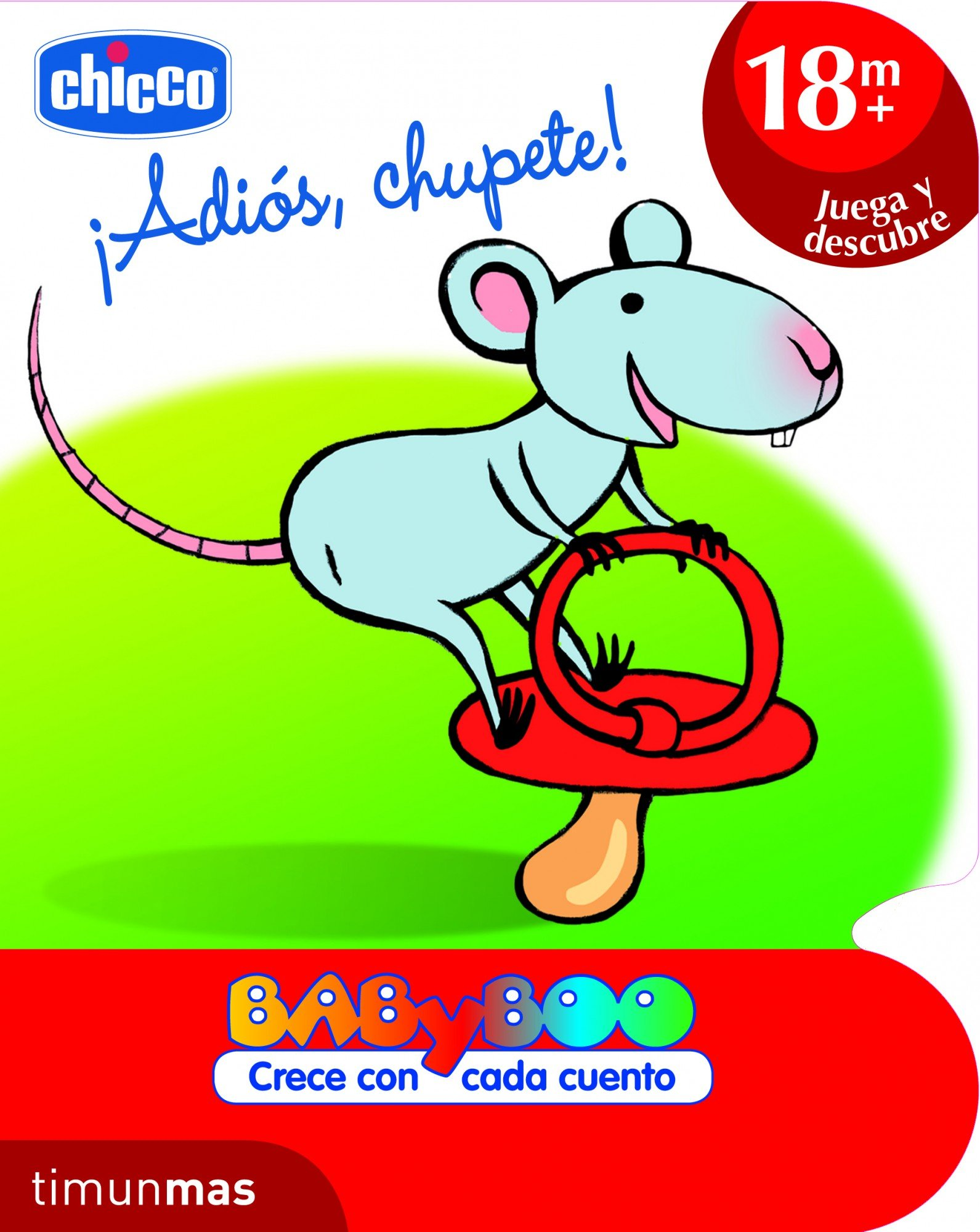 ADIOS CHUPETE BABY +18MESES: CHICCO: 9788408103141: Amazon ...