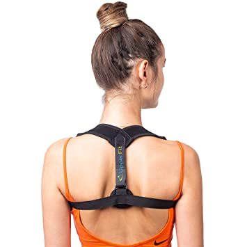 563678b3b9 Back Posture Corrector for Women Men by UpperFit - Comfortable Posture  Correct Back Brace for Slouching