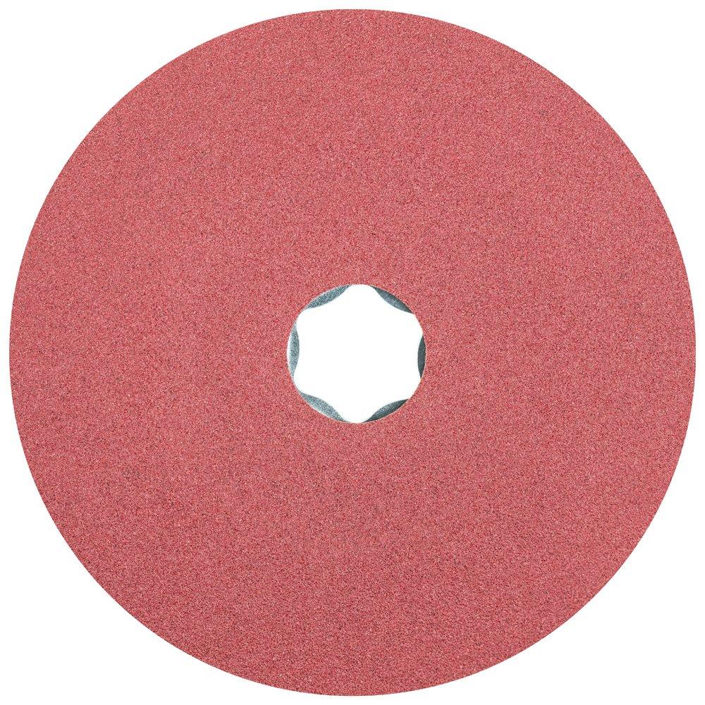 Pack of 25 4-1//2 Diameter PFERD Inc. PFERD 40703 Combiclick Fibre Disc 4-1//2 Diameter 13300 rpm 120 Grit Ceramic Oxide CO