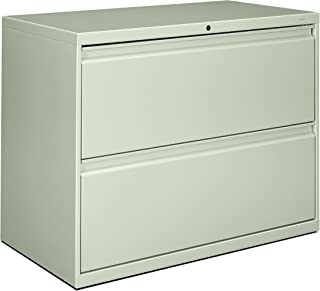 product image for HON 882LQ 800 Series 36-Inch by 19-1/4-Inch 2-Drawer Lateral File, Light Gray