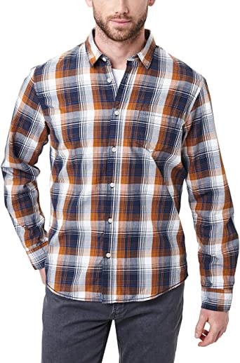 Pioneer Shirt Longsleeve Check Camisa Casual para Hombre