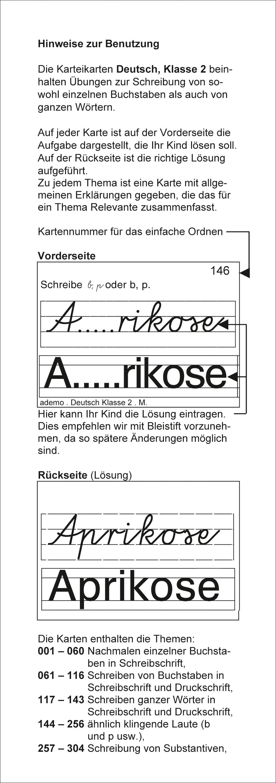 Karteibox Deutsch Klasse 2 Amazon De Ademo Gmbh Bã Cher
