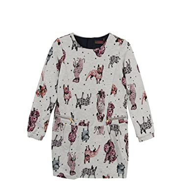 best website f641d 74bac Catimini Girl's Robe Milano CHI Party Dress Multicolour ...