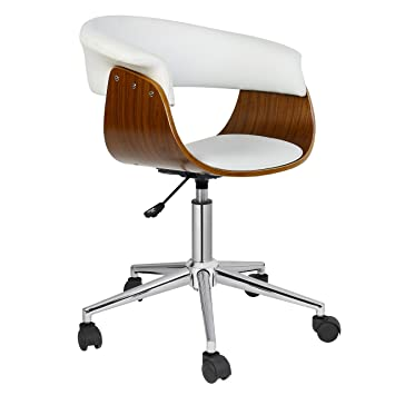 Porthos Home Height Adjustable Liam Office Chair Stylish Designer Executive  Office Furniture With Thick Padding