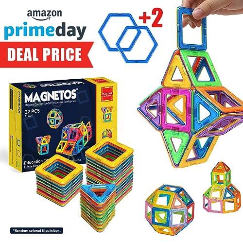 MAGNETOS Magnetic Blocks Building Set For Kids 30 2 Pcs Educational Toys Boys