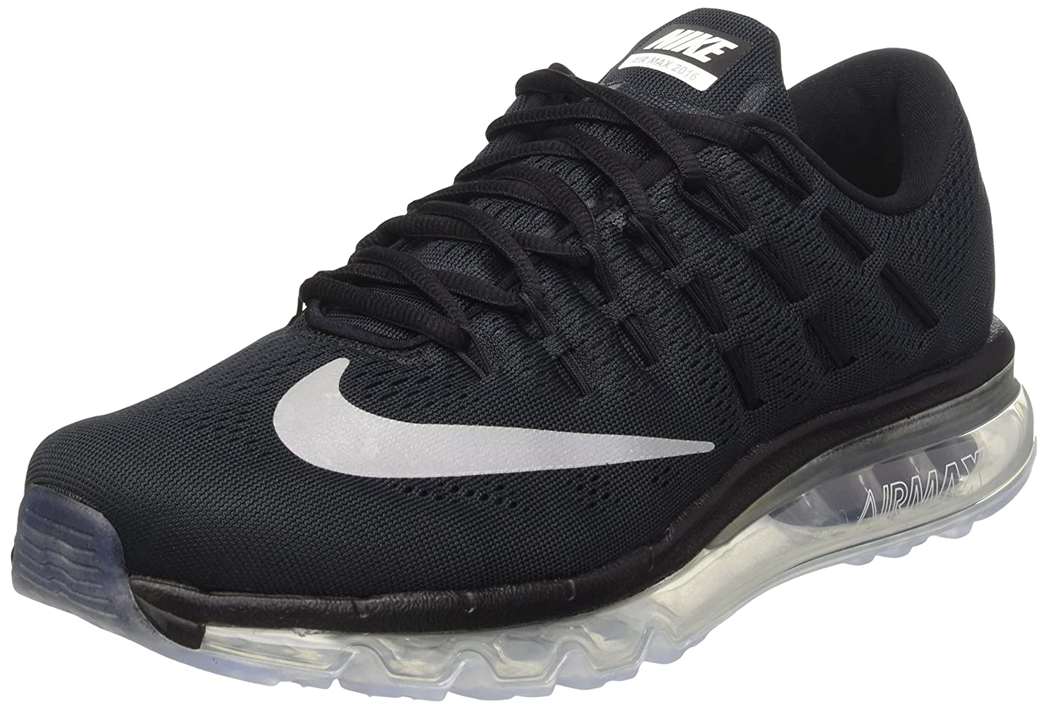 Nike Herren Air Max 2016 Low-Top, 44 EU  425 EU|Black / White / Dark Grey