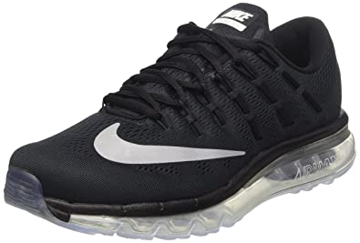 wholesale dealer 28f5b 2fedd Nike Herren Air Max 2016 Laufschuhe, Black White Dark Grey, 40 EU