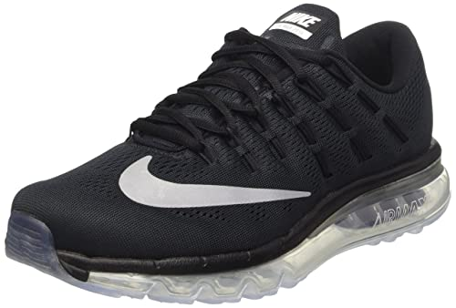 promo code f60bc ed615 Nike Men s Air Max 2016 Competition Running Shoes, Black   White   Dark  Grey,